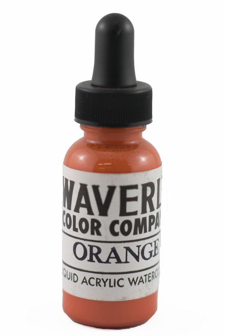 Waverly Liquid Acrylic Watercolor - Orange