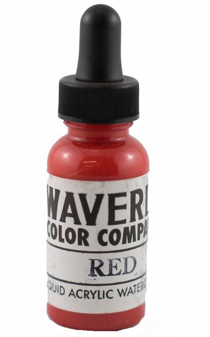 Waverly Liquid Acrylic Watercolor - Red