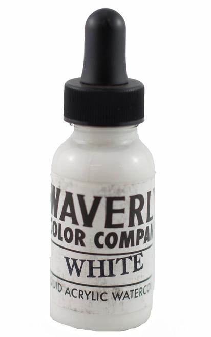 Waverly Liquid Acrylic Watercolor - White