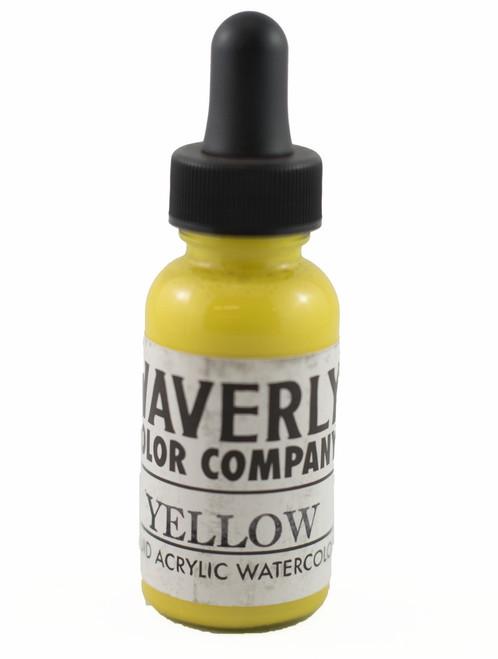 Waverly Liquid Acrylic Watercolor - Yellow