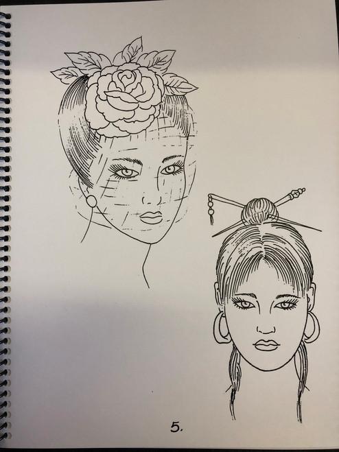 """Mike """"Rollo"""" Malone - Sketchbook Vol. 1 1996"""