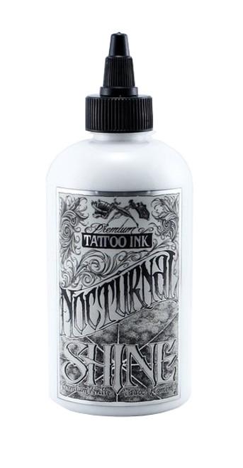 NOCTURNAL TATTOO INK - SHINE WHITE 4oz
