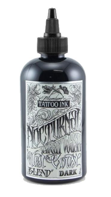 NOCTURNAL TATTOO INK - WEST COAST BLEND DARK 4oz