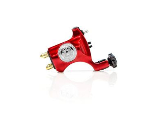 Bishop V6 Clip Cord Rotary- Blood Red 3.5 Stroke
