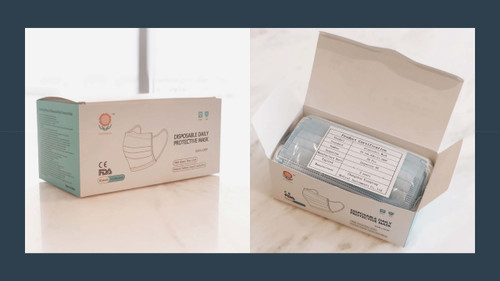 Disposable Daily Procedure Masks 50/box