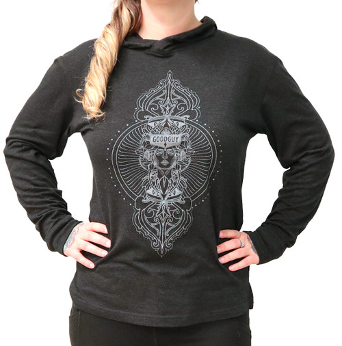 Craig Fenrick Premium Hooded Long Sleeved T-shirt