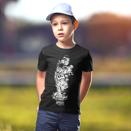 James Tex Kappa and Tiger Kids Shirts