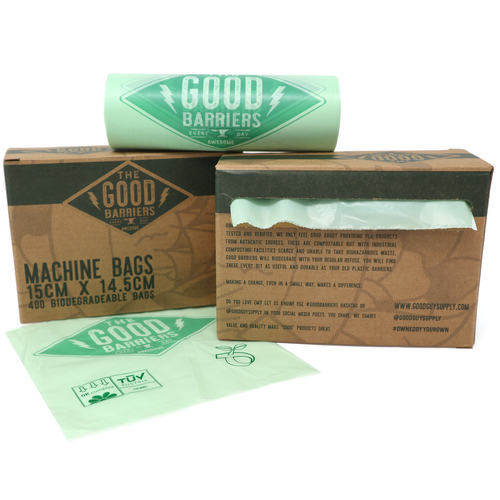 Good Biodegradable Machine Bags