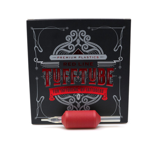 Red Line- Tuff Tube 25mm Disposable Tubes 20/box