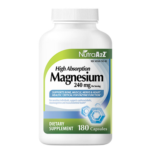 NutraA2Z Magnesium 240mg