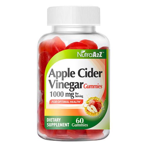 NutraA2Z Apple Cider Vinegar Gummies 1000mg