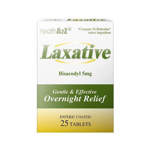 HealthA2Z Laxative,  25 Tablets ( 1 Pack, 3 Packs& 6 Packs)