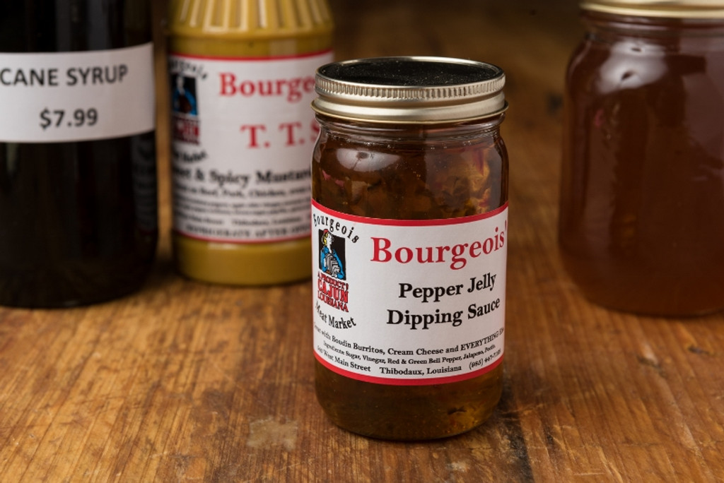 Bourgeois Pepper Jelly Dipping Sauce