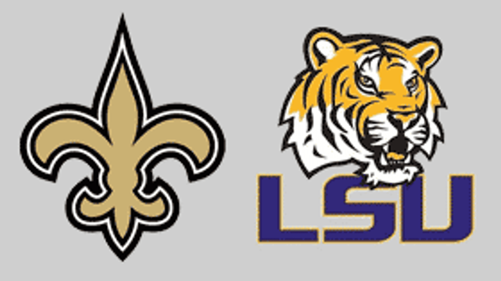 Saints and LSU Football is Here!