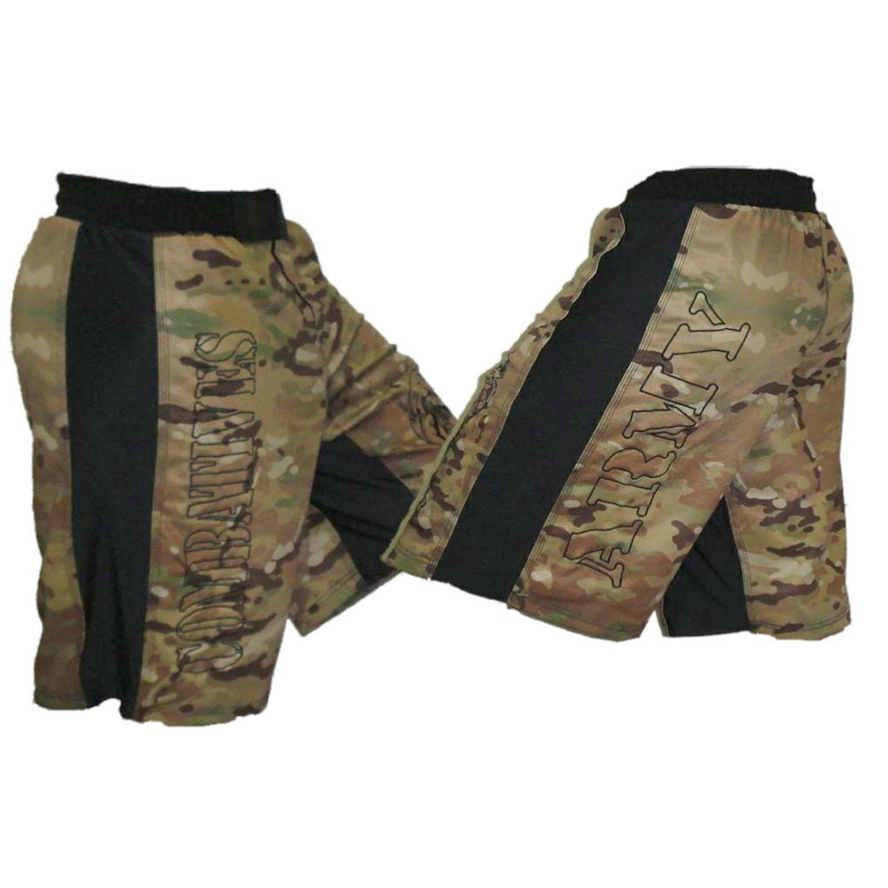 f5eba19c0d Camo MultiCam Pattern Combatives Shorts - MacpGear A Division of ...
