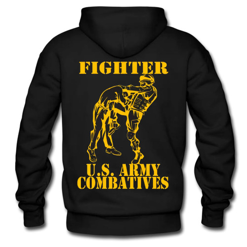 MACP Fighter Hoodie with Gold Print