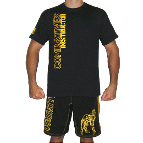 Black and Gold Combatives Instructor Shirt