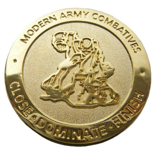 Gold MACP Challenge Coin