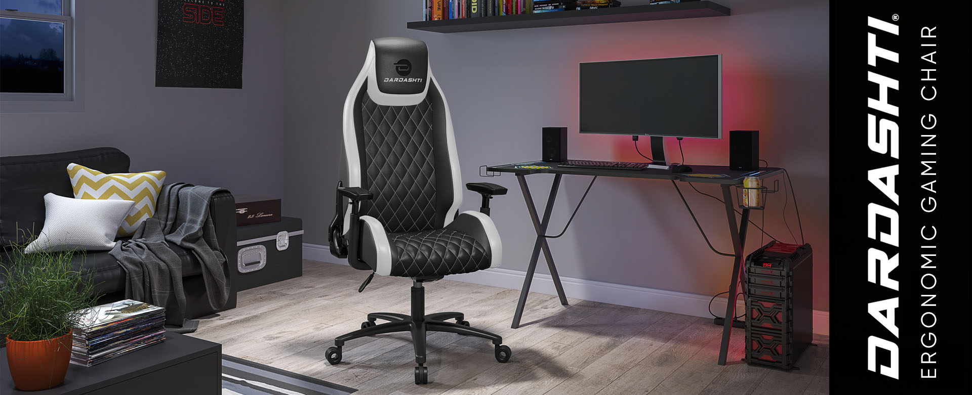 Dardashti Gaming Chair: The next-gen ergonomic gaming chair