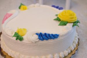 Vanilla Lemon Torte