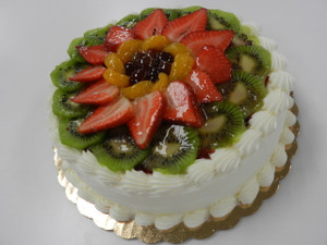 Fresh Fruit Torte