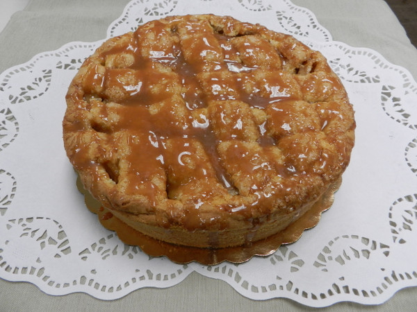 Caramel Apple Torte