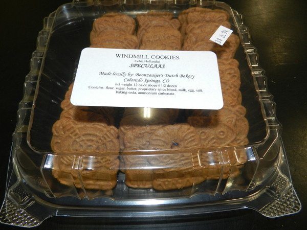 Speculaas Windmill Cookies