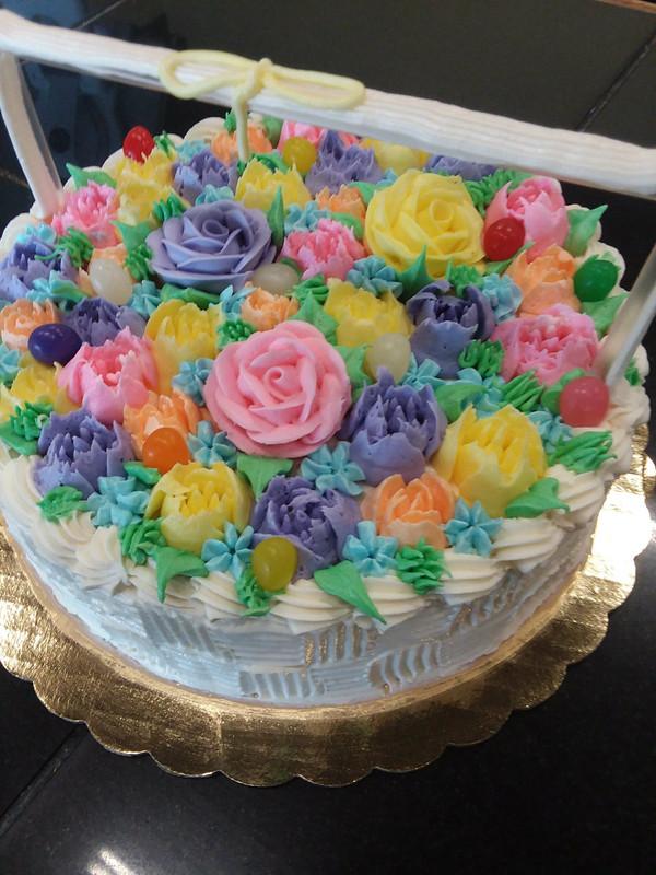 Easter Basket Torte