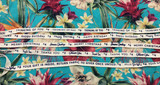 Printed ribbon - set of 5