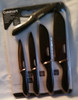 Cuisinart 11 pc Metallic Non Stick Coated Knife set with Cutting Board (086279144836)