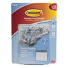 3 M Command Hooks Safe and Reliable Small Wire Hooks, Clear Plastic, 20 Hooks & 24 Adhesive Strips