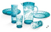 Coastal 9-Pc. Acrylic Drinkware and Plate Set (00HY111/131 & 00SC171 )