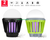 Wisley 2 Pack LED Lantern with Mosquito Killer (086029500264)