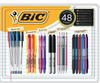 BIC All-in-One Value Pack, 48 ct. - Assorted ( WC7BJ216-A-AST )