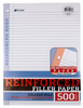 Reinforced College or Wide Rule Filler Paper, 500 ct.