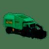 Tonka Mighty Motorized Garbage Truck, Fire Engine, Police Cruiser (021664067475)