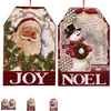 Vintage Christmas Character Signs, 9x13.5 in. ( 297213)