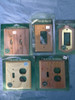 Oak Electric outlet & switch Covers Buy the Lot N' Save (oeosc lot)
