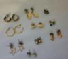 Vintage Jewelry Pierce Earrings Buy the lot of 10 (Lot 3 10)