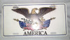 USA America Eagle Vanity Auto Plate (eagle)