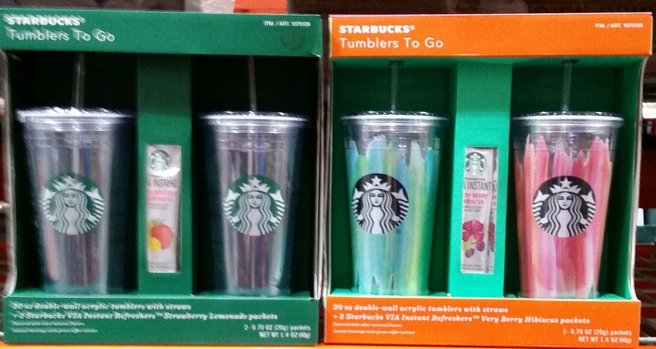 Starbucks 20 Ounce Insulated Tumbler With Straw
