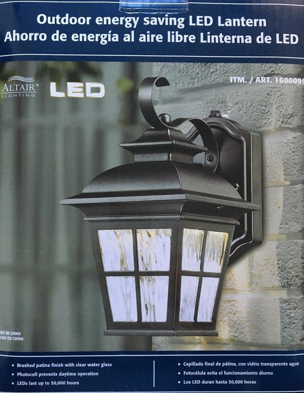 Image of: Altair Outdoor Energy Saving Led Lantern Al 2165