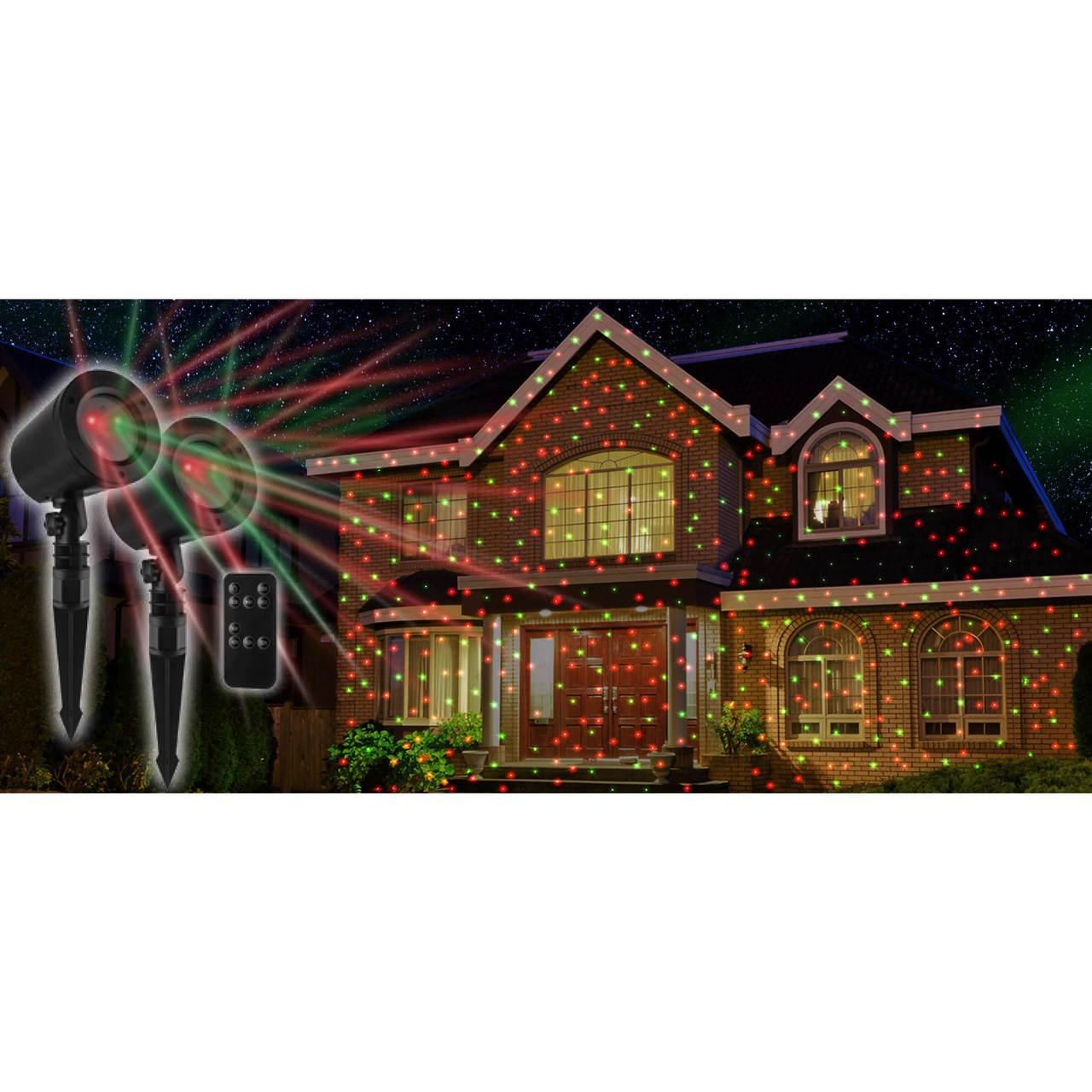 Mr Christmas Projector.Mr Christmas Laser Projector 2 Pk