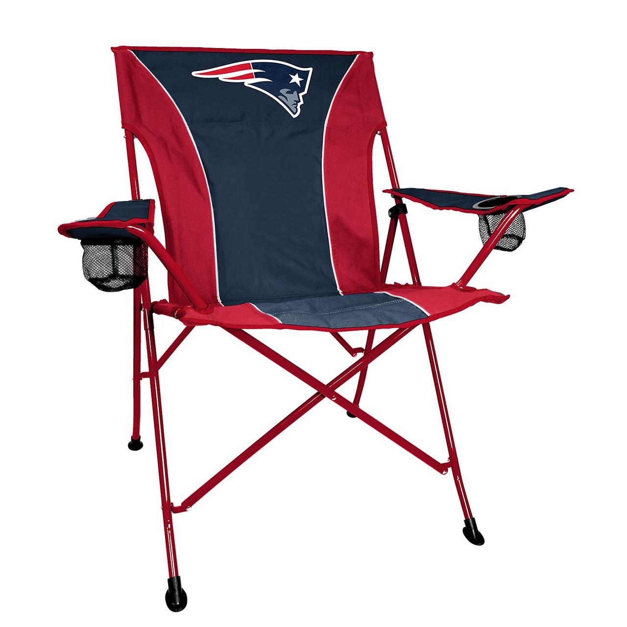 Surprising Nfl Patriots Deluxe Quad Chair Lamtechconsult Wood Chair Design Ideas Lamtechconsultcom