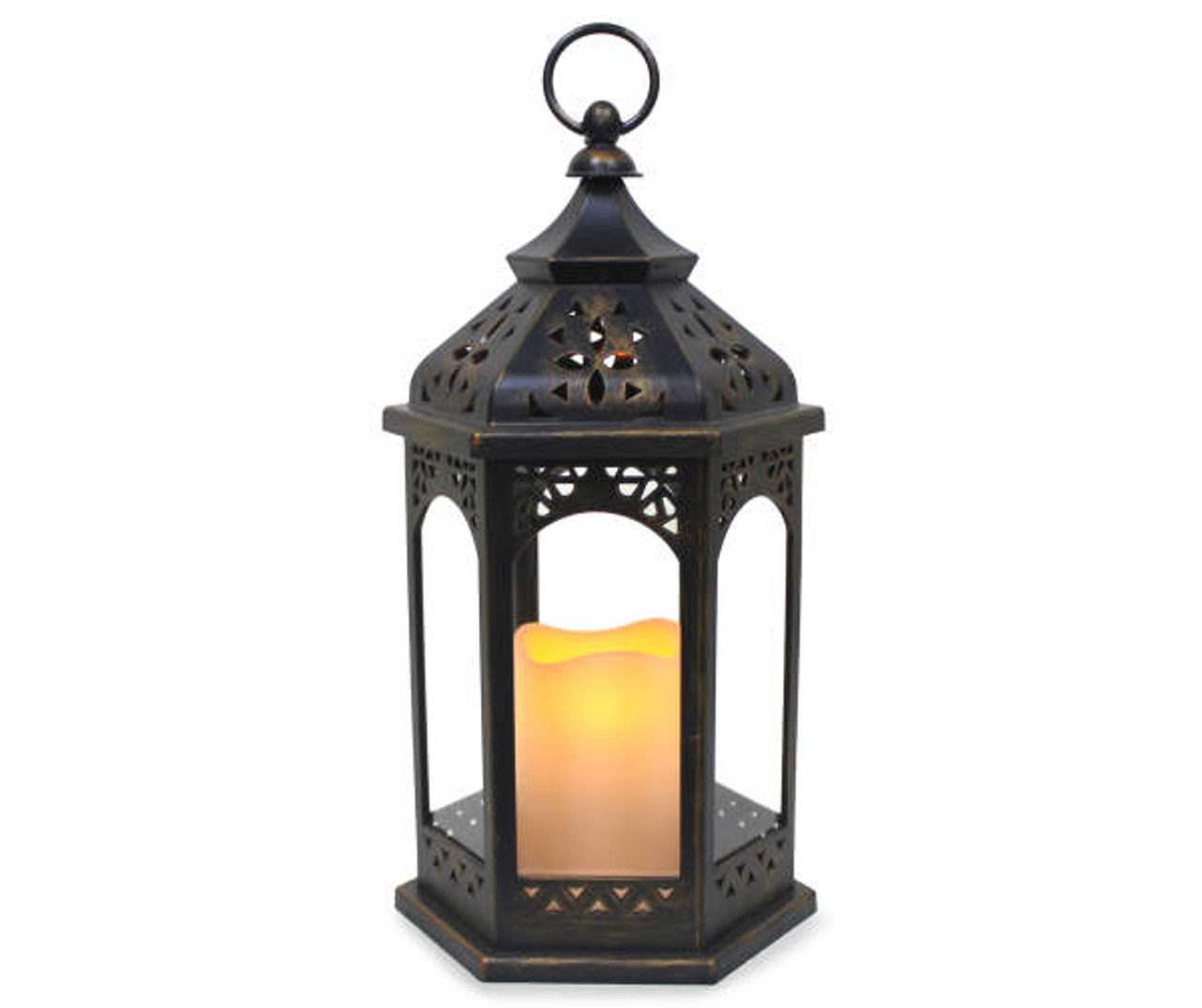 Outdoor Decorative Lantern Battery Operated