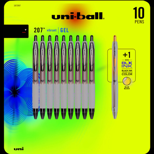 uni-ball 207 Gel Pen, 10 pk. - Black ( 1872997)