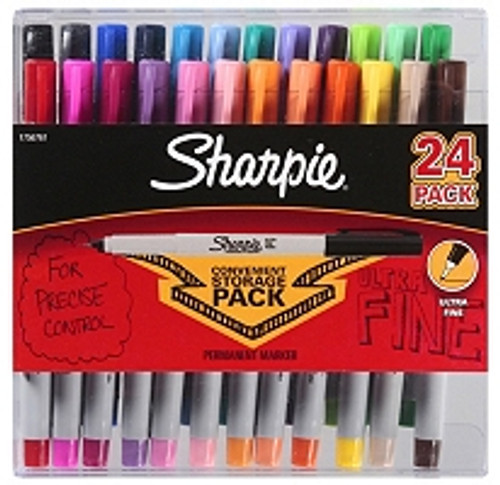 Sharpie - Permanent Marker fine point black or assorted colors (1756292)
