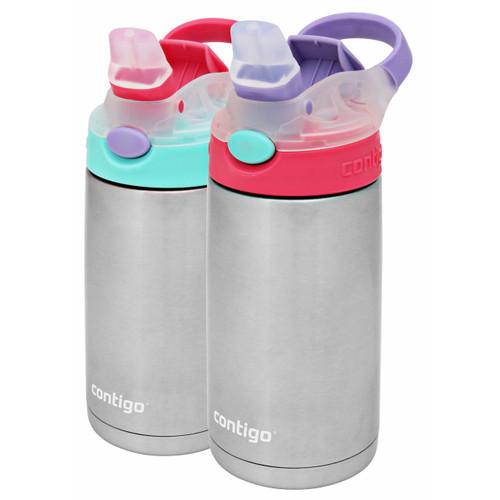 Contigo Gizmo Flip Chill Water Bottles, 2 pk.