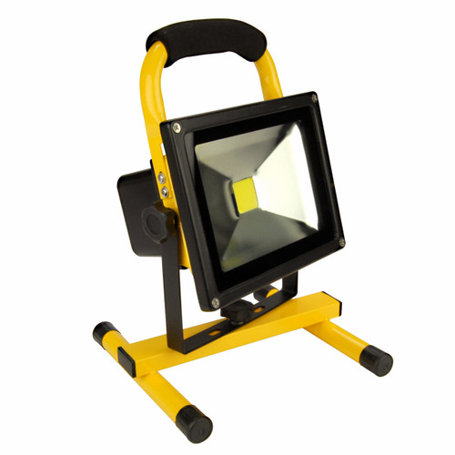 Royal 1,800-Lumen Rechargeable 20W Water-Resistant LED Work Light - Yellow (29468W ) (