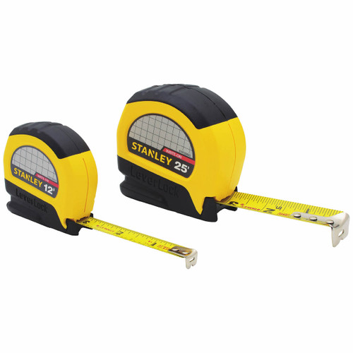 STANLEY LeverLock 2-Pc. Measuring Tape Set ( 73-965LB )